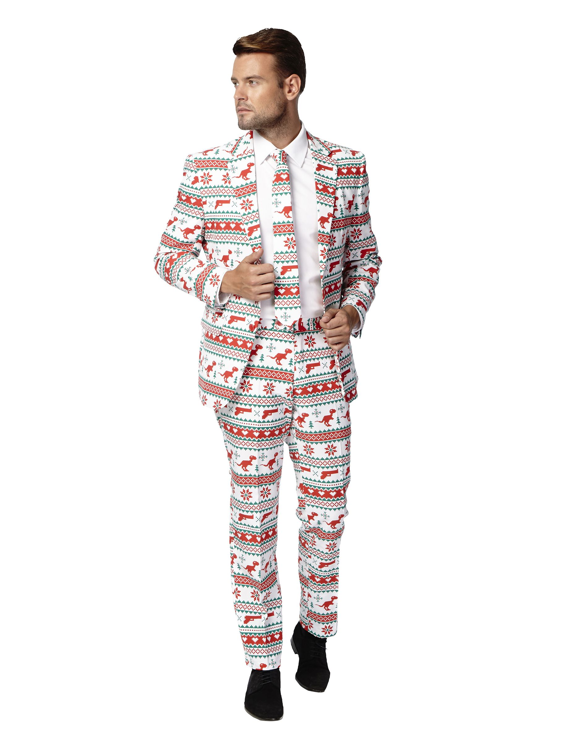 553aa5fc1c7 Costume Mr. Gangster de Noël homme Opposuits™   Deguise-toi