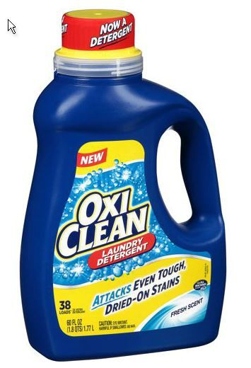 2 00 Off Any One Oxiclean Laundry Detergent Coupon Laundry