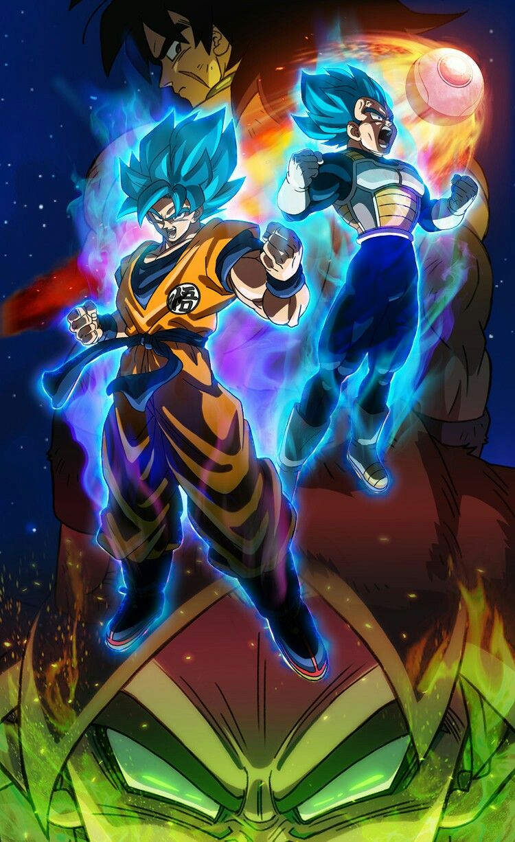f7098fc8d8 The 20th DB movie: Broly Disney Pixar, Dragon Ball Z, Goku Y Vegeta