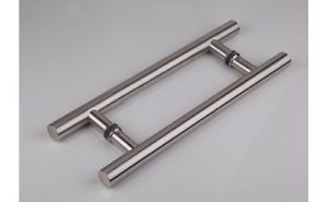 Door Push Pull Long Handle Back To Back Stainless Steel 16 24 36 48 60 72 Door Handles Door Pull Handles
