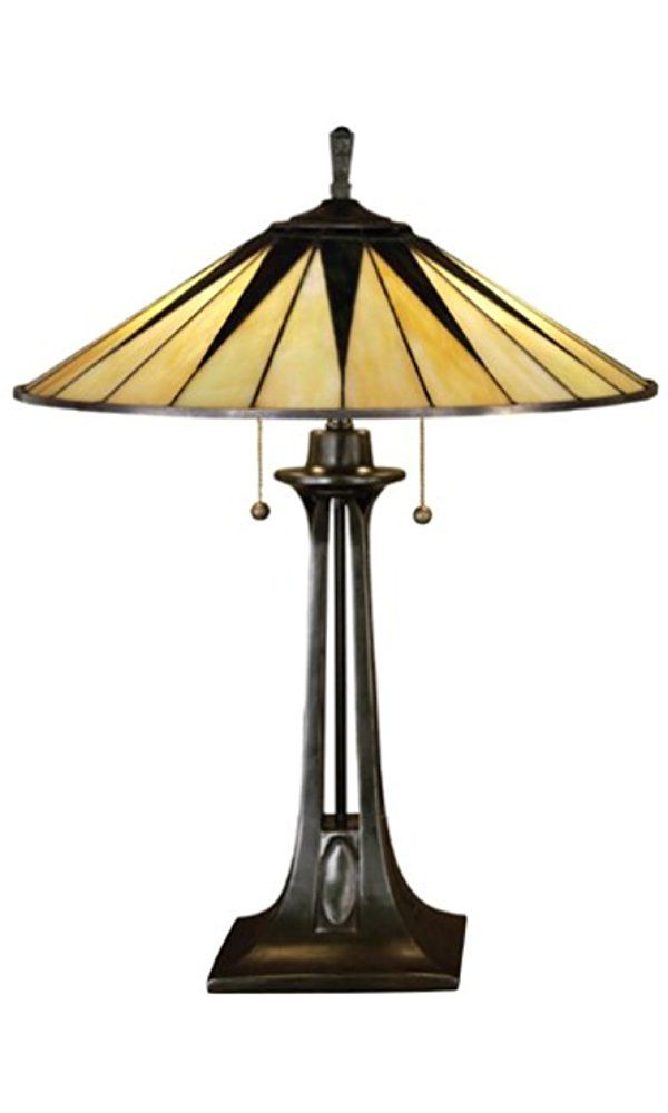 Quoizel tf6668vb gotham small glass table lamp 2 light 130 total quoizel tf6668vb gotham small glass table lamp 2 light 130 total watts mozeypictures Choice Image