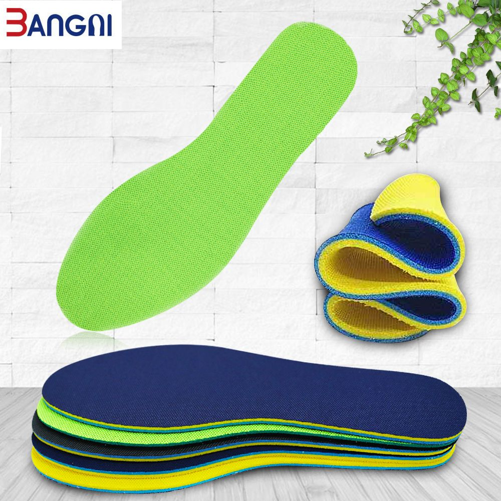New 1 Pair Silica Gel Basketball Running Insoles Summer Breathable Foot Shoe Pad