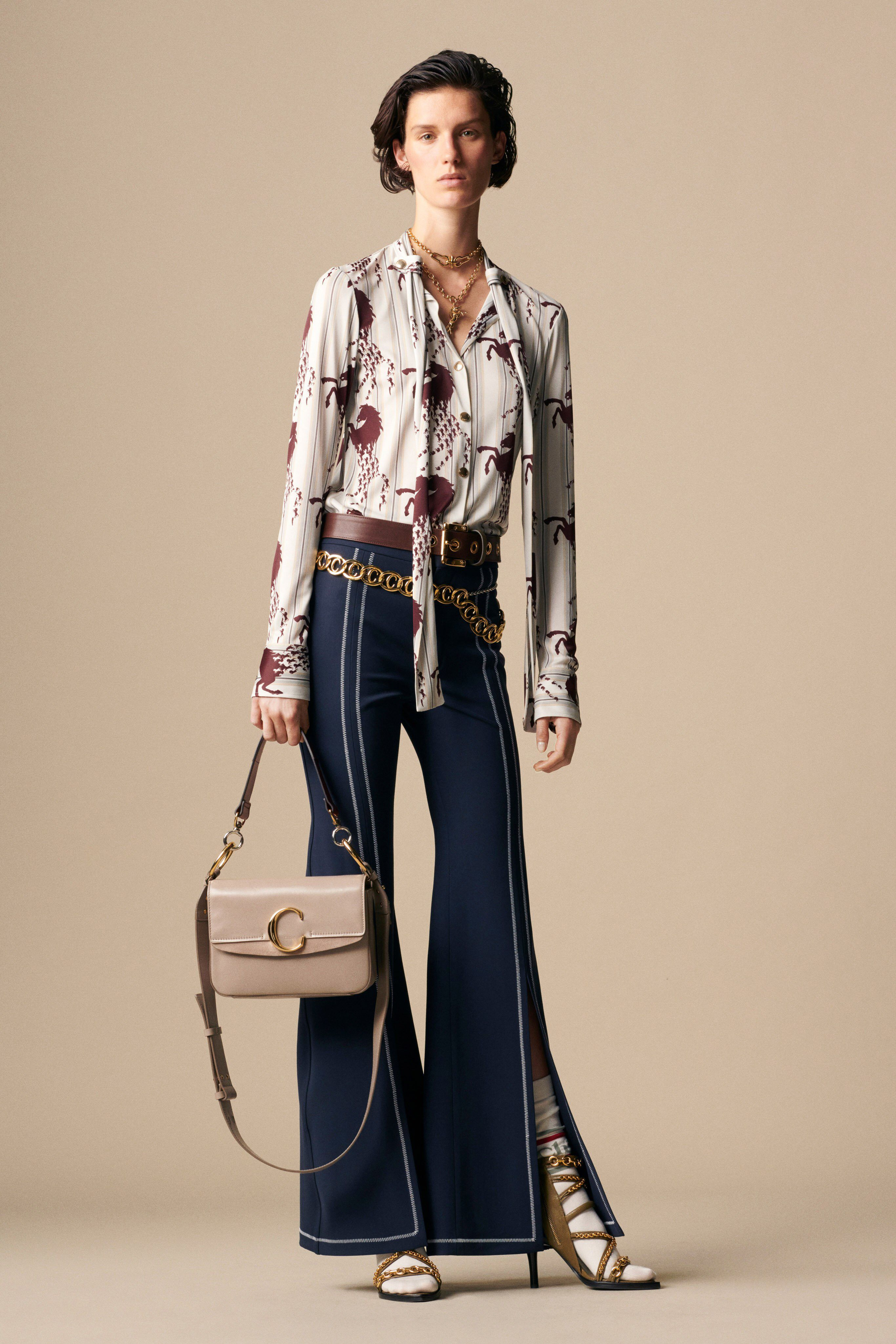 60363517 Chloé Resort 2019 Fashion Show Collection: See the complete Chloé ...