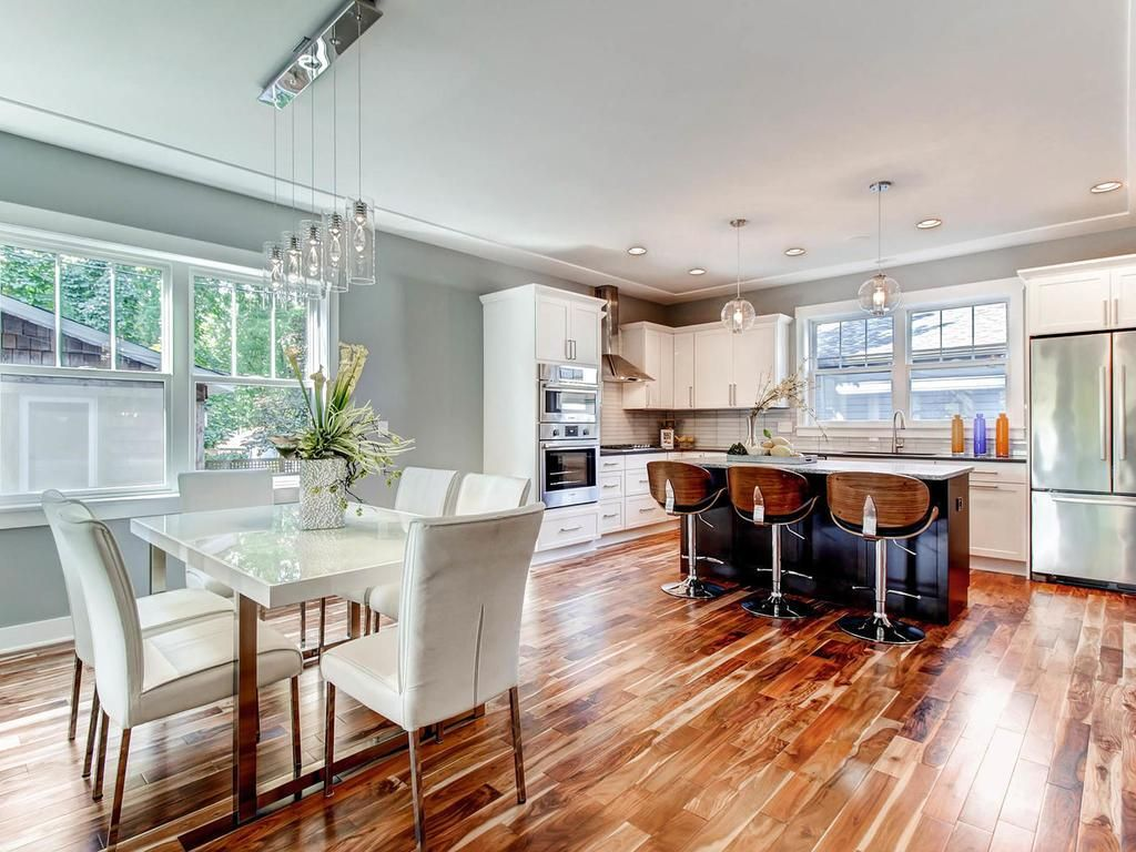 Open Concept Kitchen With Lots Of Natural Light Pendulum
