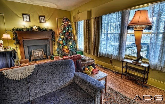 1930s 1940s Living Room 1940s Living Room Christmas Living Rooms Christmas Story House