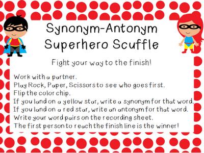39 Synonyms Antoynms Ideas Teaching Synonym Word Study