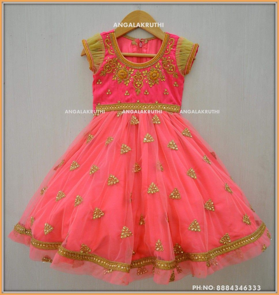 Kids Party Wear Designs By Angalakruthi Boutique Custom