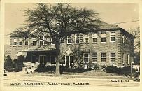 Find This Pin And More On Historical Post Cards Of Marshall Co Al Saunders Hotel Albertville