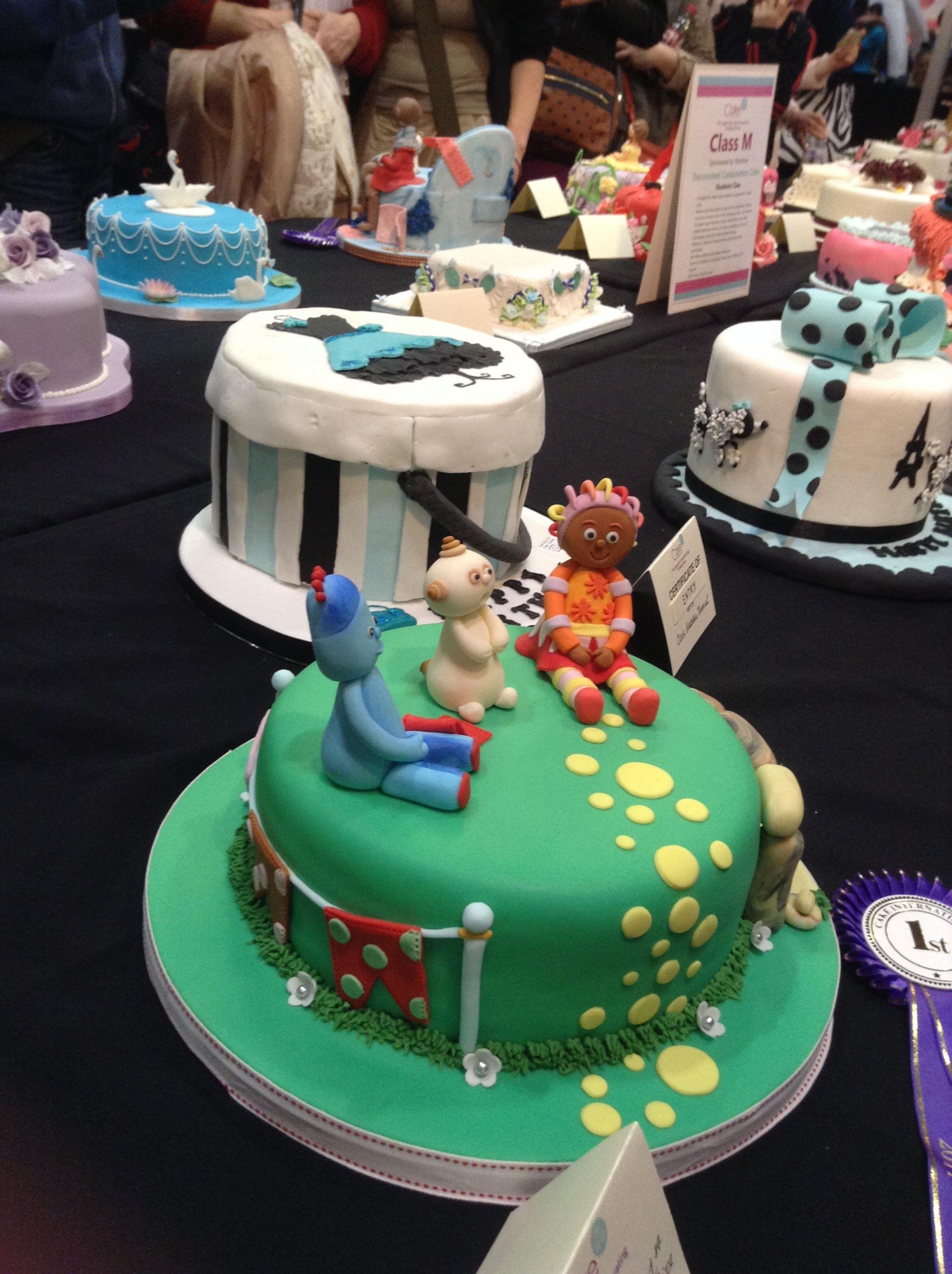 In the Night Garden Cake | Cake, Cake show, Garden cakes