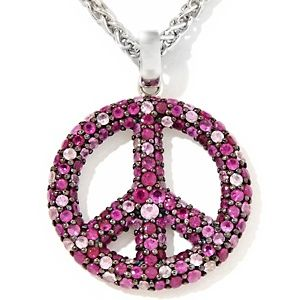 Beautiful sapphire and ruby peace sign pendant but pricey 48990 beautiful sapphire and ruby peace sign pendant but pricey 48990 jewelry peace mozeypictures Image collections