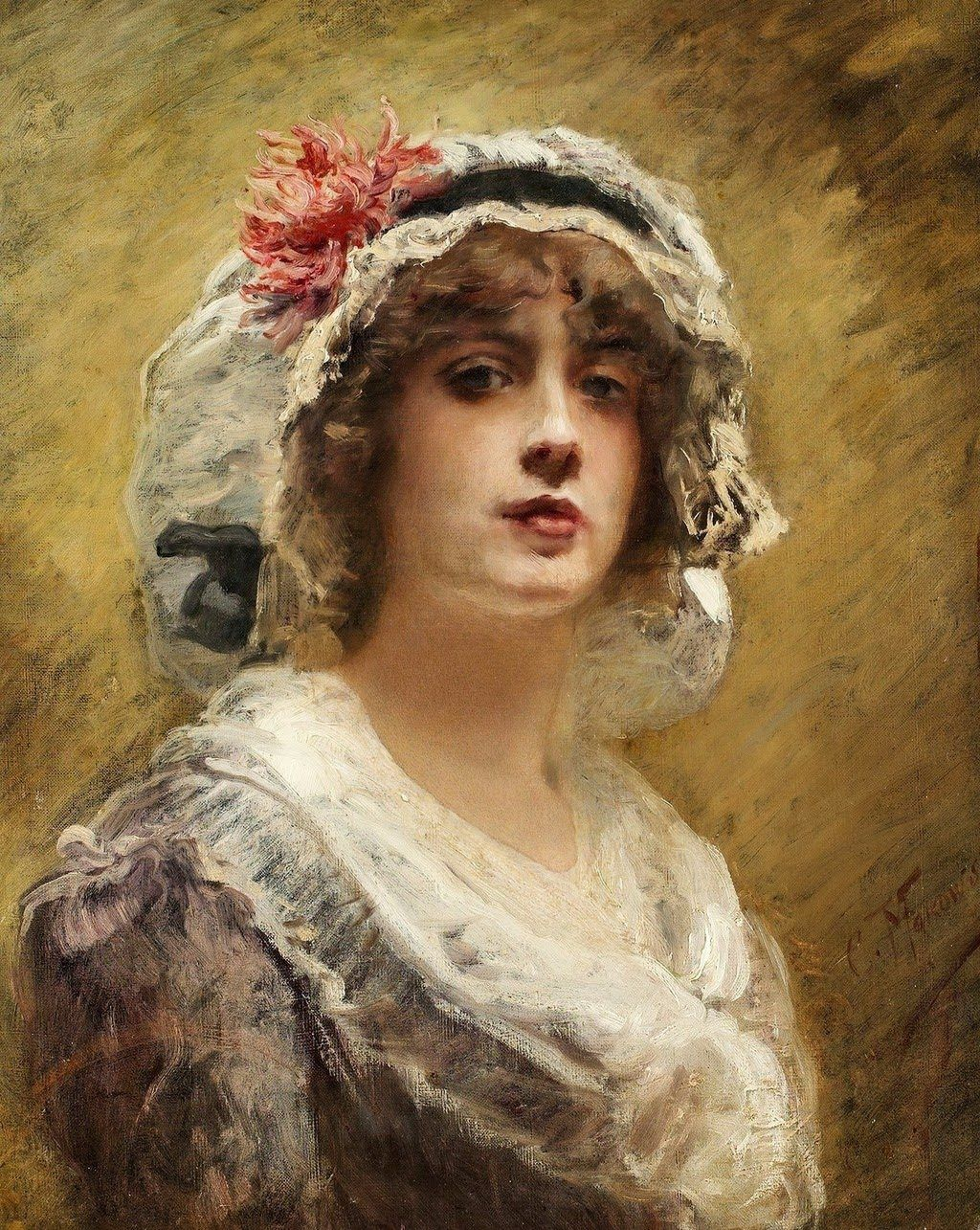 Портрет живопись картинки