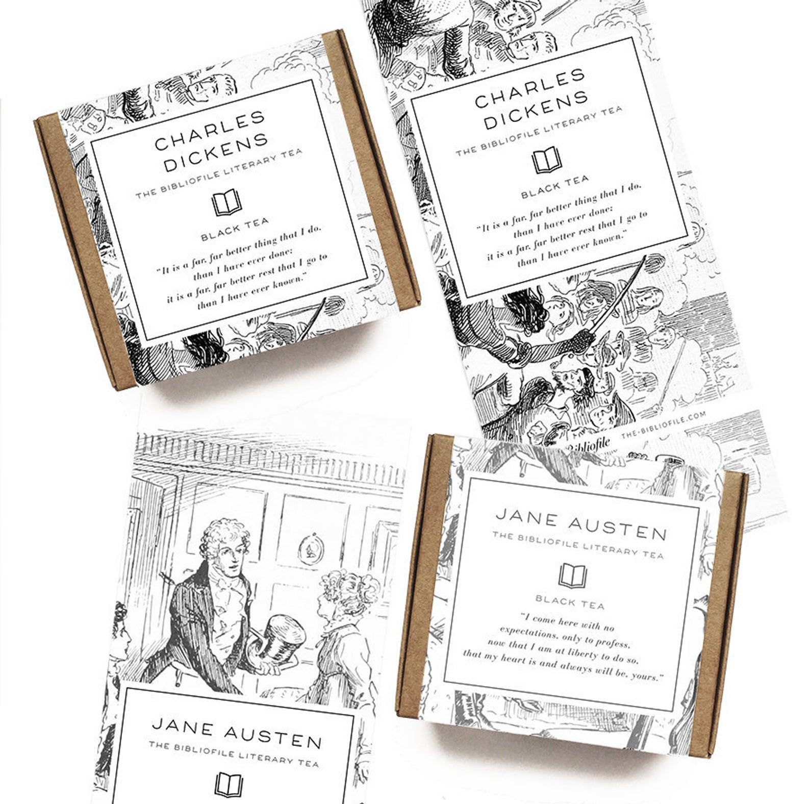 8 Literary Favors For Your Bookish Or Library Themed