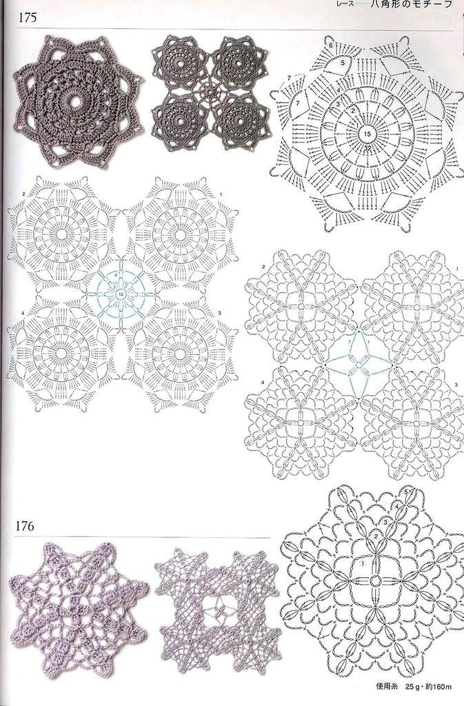 300_Crochet.motiv_2006_Djv_74.jpg | Tejido a crochet | Pinterest ...