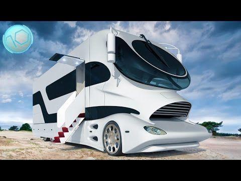 Top 10 Most Expensive Luxury Motorhomes In The World Berkemah