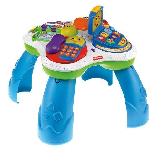 Bilingual German / English Activity Table From Fisher Price Laugh U0026 Learn  Range.