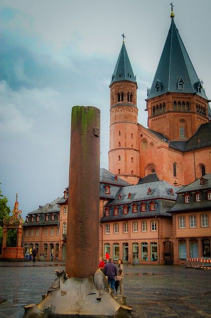 Mainz Cathedral And Market Square Mainz Germany Flickr Photo Sharing Mainz Germany Mainz Germany Travel