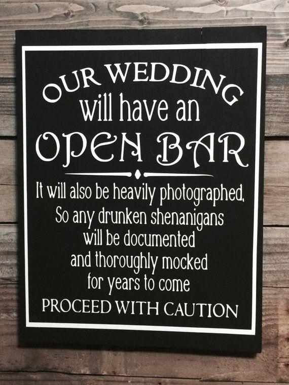 Wedding Sign, Rustic Wedding Sign, Wedding Decor, Reception Decor ...
