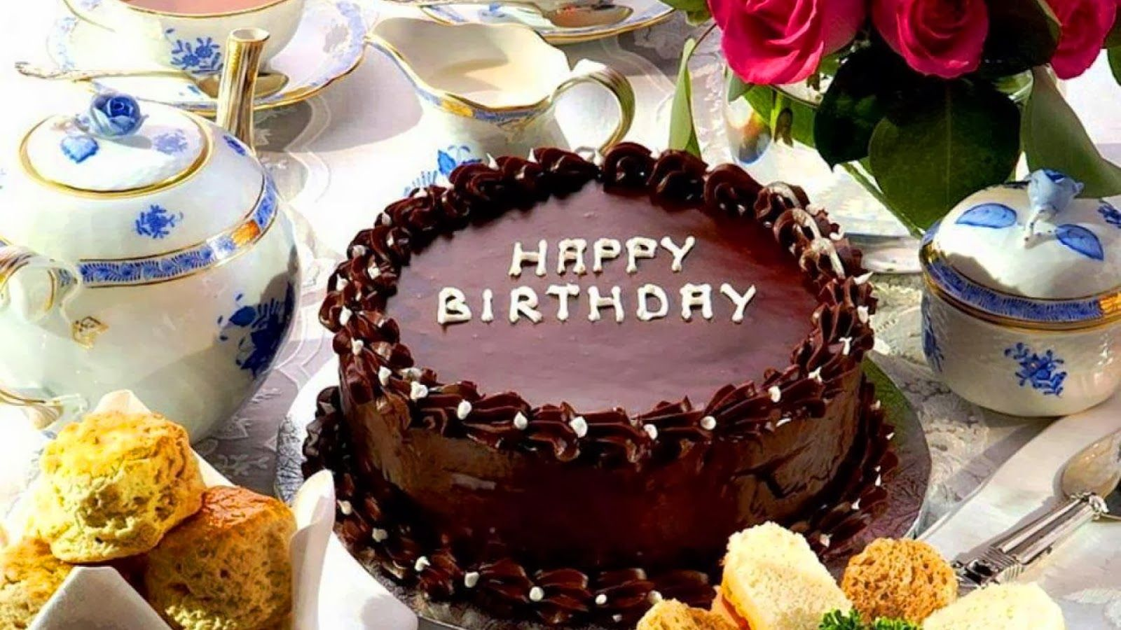 happy birthday chocolate cake wallpaper lets you download the on yummy birthday cakes free download with name