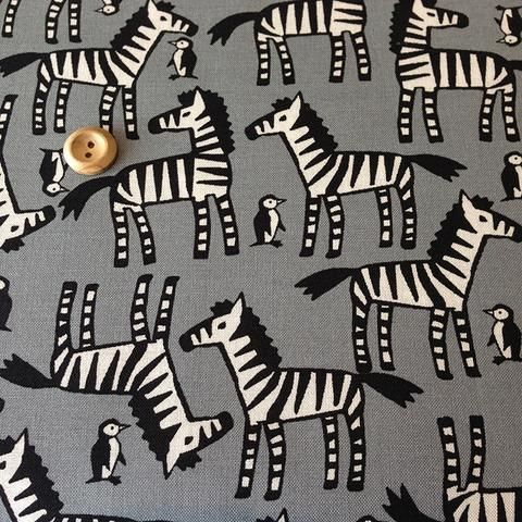 Sevenberry Zebras and Penguins - Fabric HQ