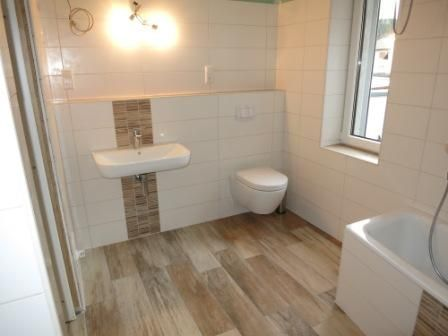 Badezimmer Holzoptik