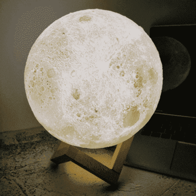 3d Moon Lamp Couthier In 2020 Led Christmas Tree Lights Night Light Lamp