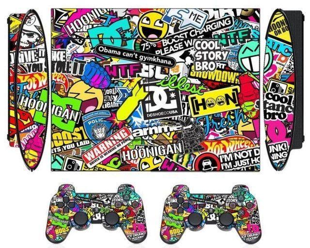 Joker Man Vinyl Skin Sticker for Sony PS3 Super Slim 4000 and 2