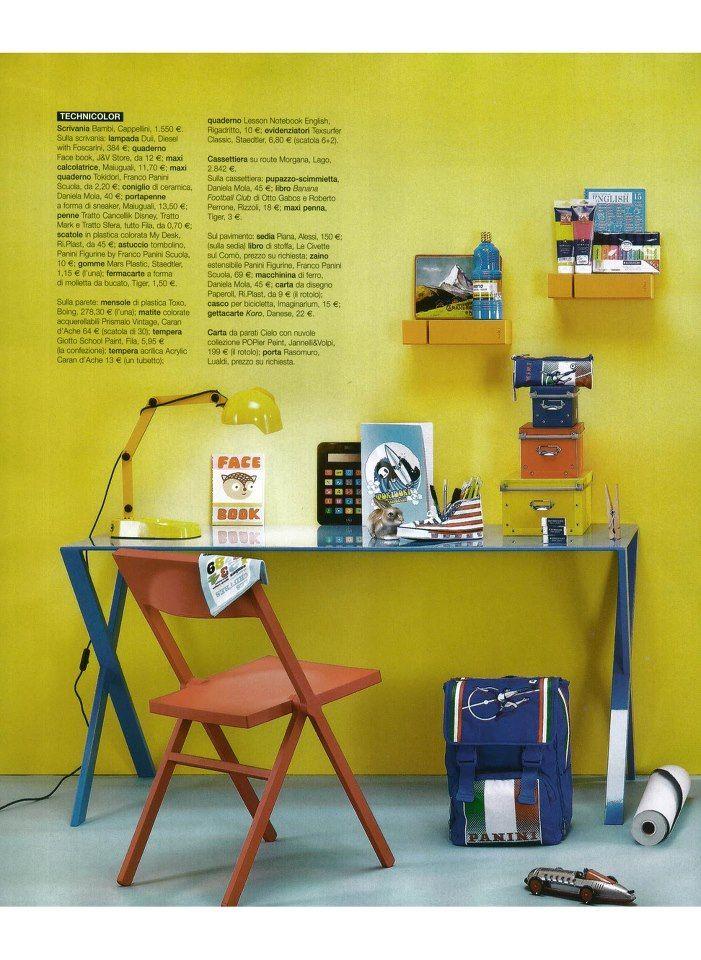 Ready for school   CAPPELLINI - Bambi desk by Nendo  dd79b2cf6236