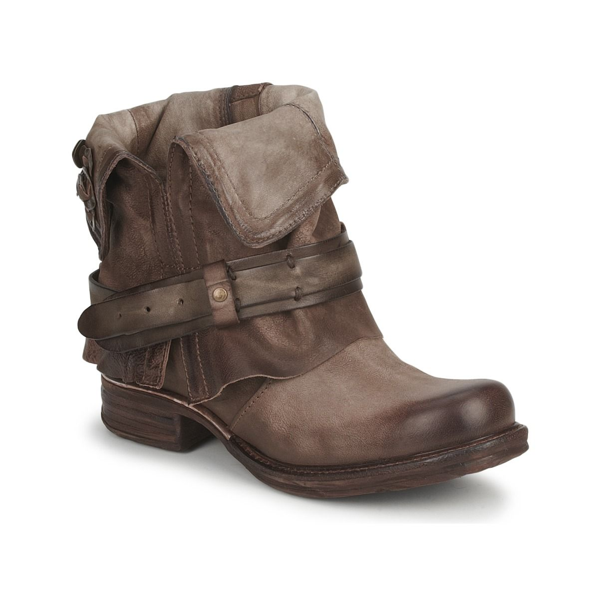 competitive price 9af52 60835 Boots Air Step SAINT BIKE Marron - achat de chaussures en ligne, boutique  chaussure pas cher sur Shoes.fr ! - Chaussures Femme 199,00 €