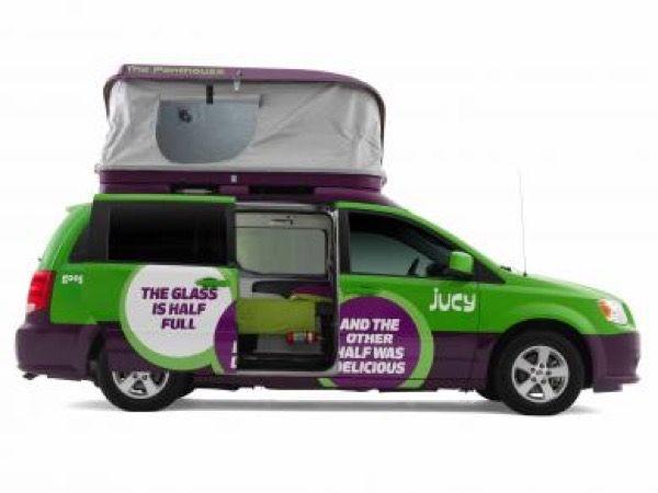Dodge Caravan Minivan Converted Into Micro Motorhome Mini Van