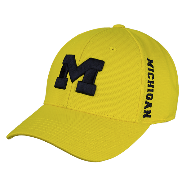 sports shoes bd77a e8bbe UM Booster Flex Hat. Find this Pin and more on Michigan by Campus Den.