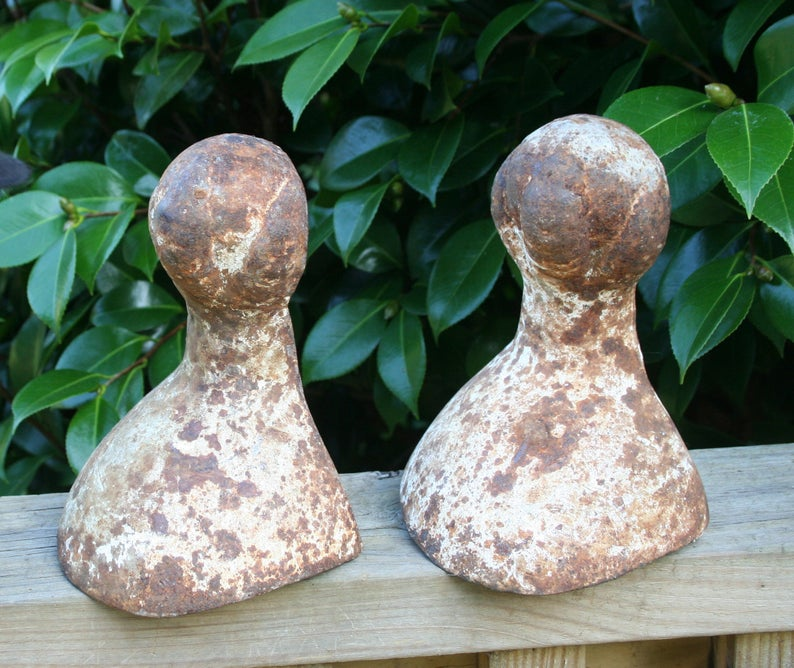Cast Iron Claw Foot Tub Feet Pair Of Heavy Tub Feet Chippy Etsy