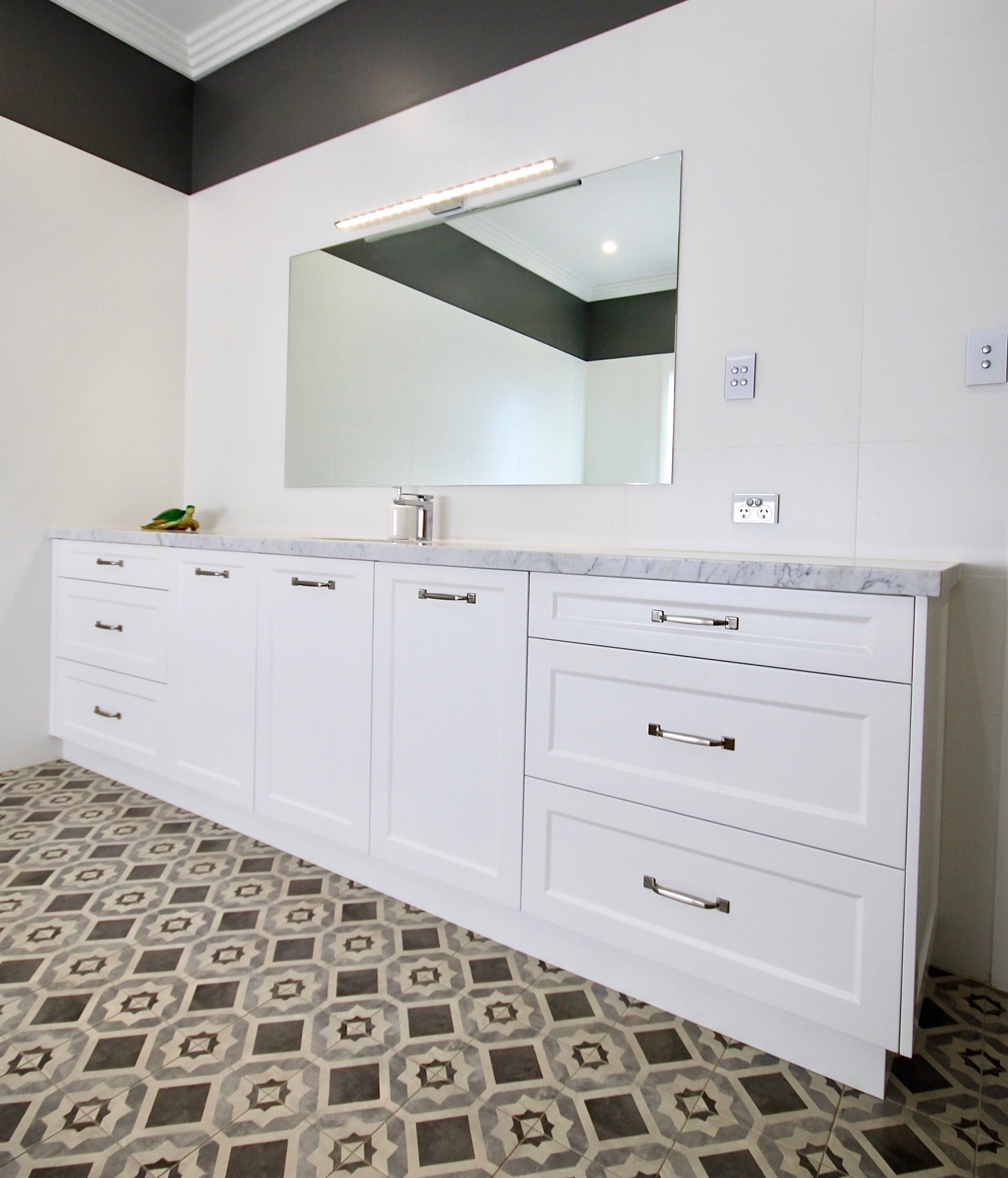 VANITY IDEAS We custom designed and manufactured this
