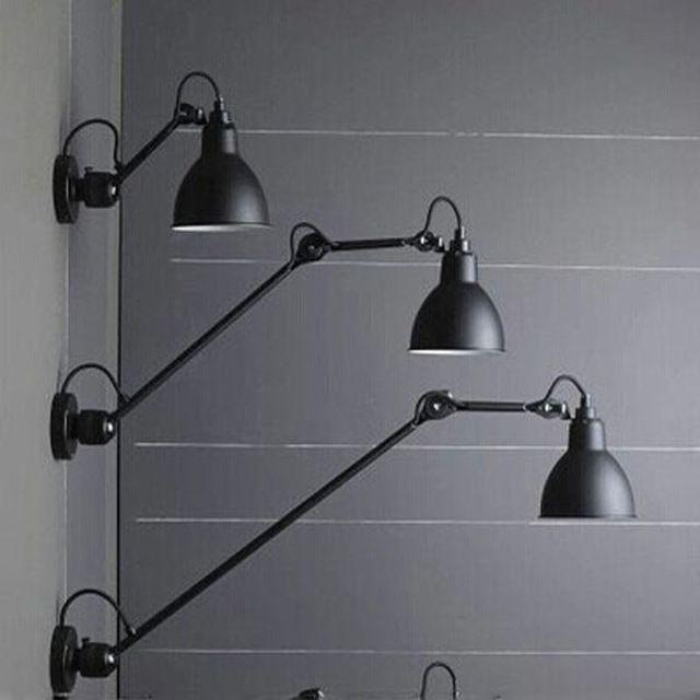 Modern Multi Functional Full Rotation Replica Designer Wall Lamp Lighting Long Swing Arm Universal Wall Li Adjustable Wall Lamp Adjustable Wall Light Wall Lamp