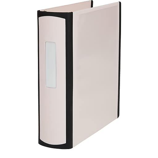 Staples® Better 2-Inch D 3-Ring View Binder, Light Pink