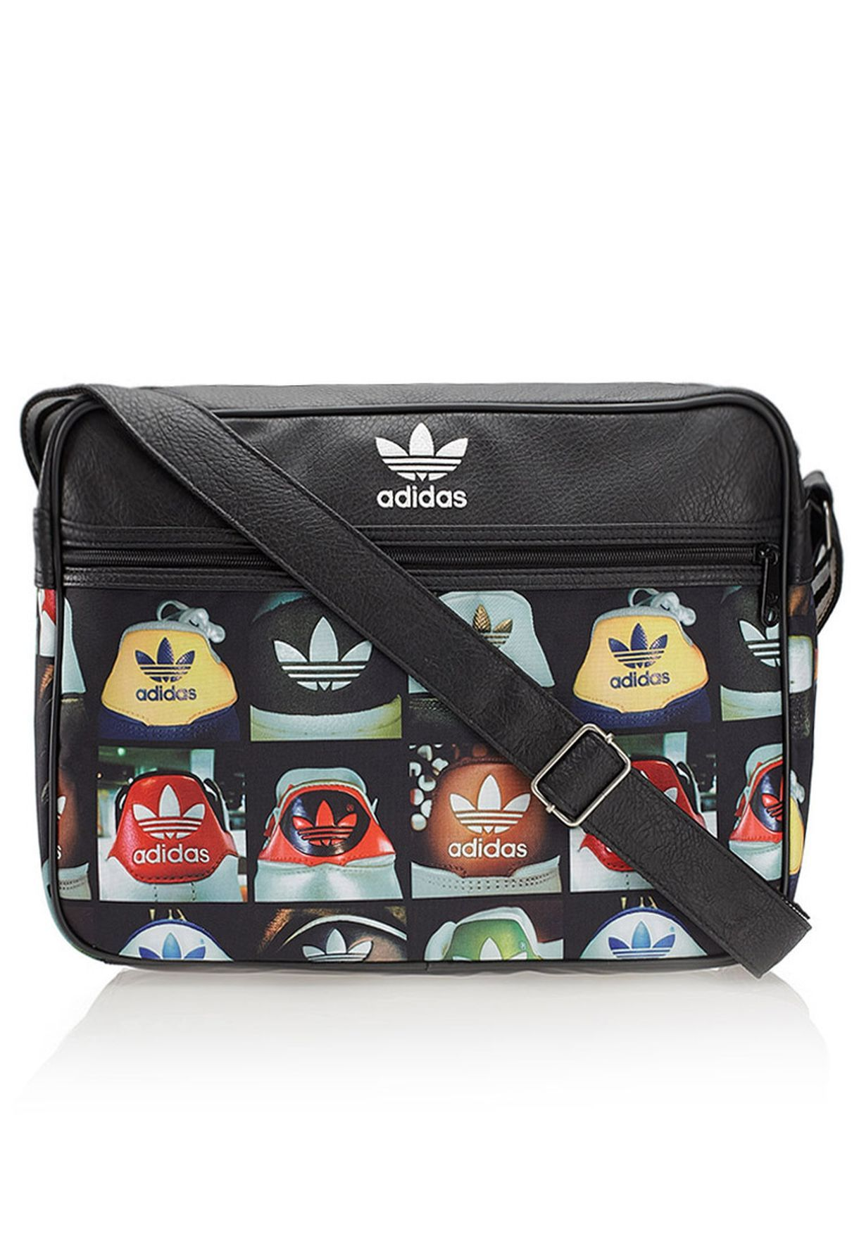 تسوق حقيبة بحزام كتف طويل ماركة اديداس اوريجينالز لون أسود في الرياض وجدة F79342 Carryall Handbag Accessories Lesportsac