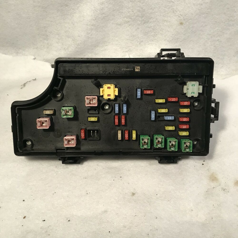 2008 Pt Cruiser Fuse Box Location