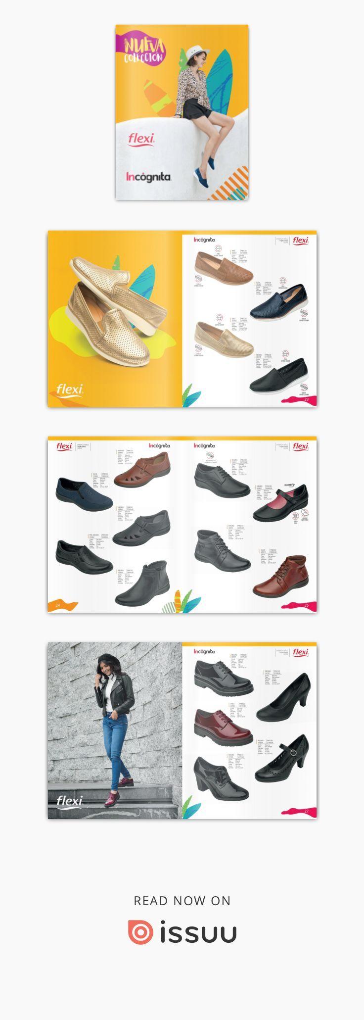 503dae81 CATALOGO FLEXI COLECCION PRIMAVERA VERANO 2019   Zapatos   Primavera ...