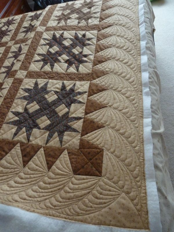 Love the quilted border it is very nice and goes with this ... : quilting border designs free - Adamdwight.com