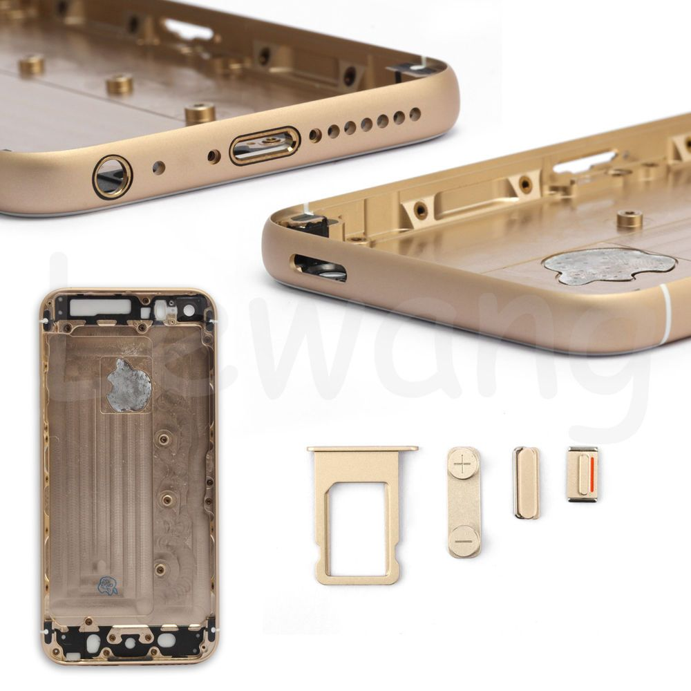 the best attitude 84e95 286cc Back Rear Housing Battery Cover for iPhone 5 Replacement to iPhone 6 ...