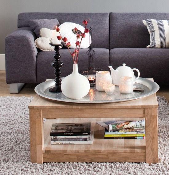 Verrassend Een dienblad doet het goed ter decoratie op de salontafel. Maar TP-68
