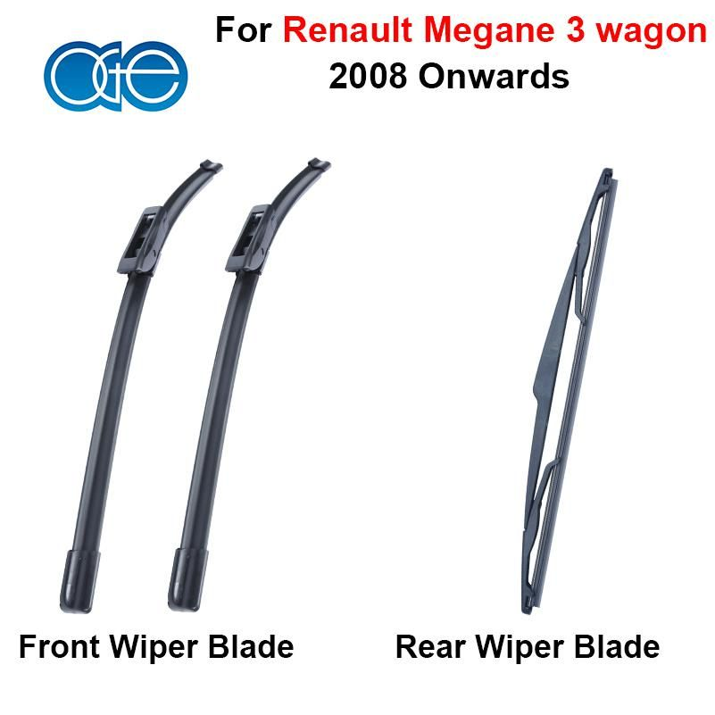 Front Rear Wiper Blade Suit For Renault Megane 3 Wagon 2008 2016