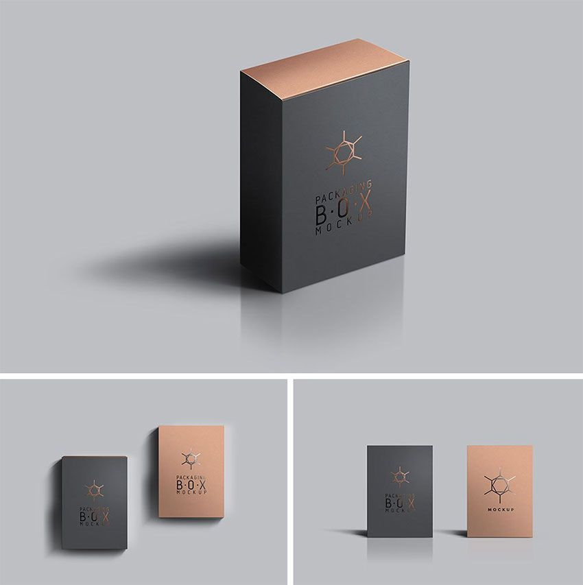 Download Packaging Product Box Mockup 디자인