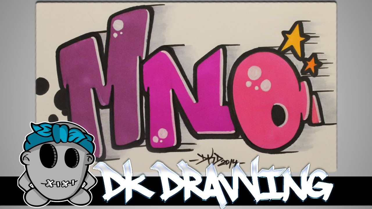 how to draw graffiti step by step