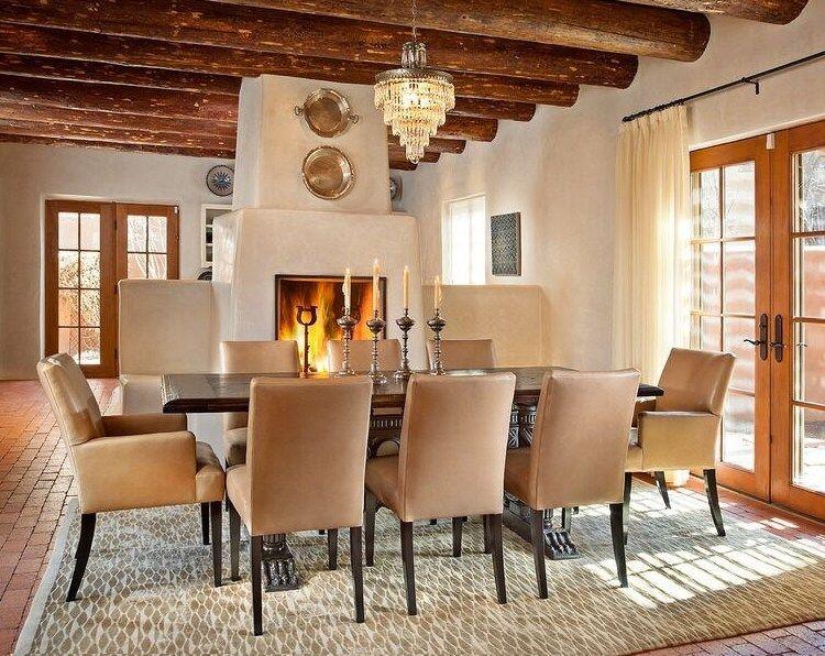 Modernized Southwest Style Dining Room By Violante Rochford