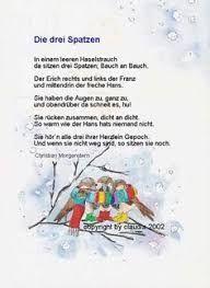 3 Spatzen Gedicht Infos Et Ressources