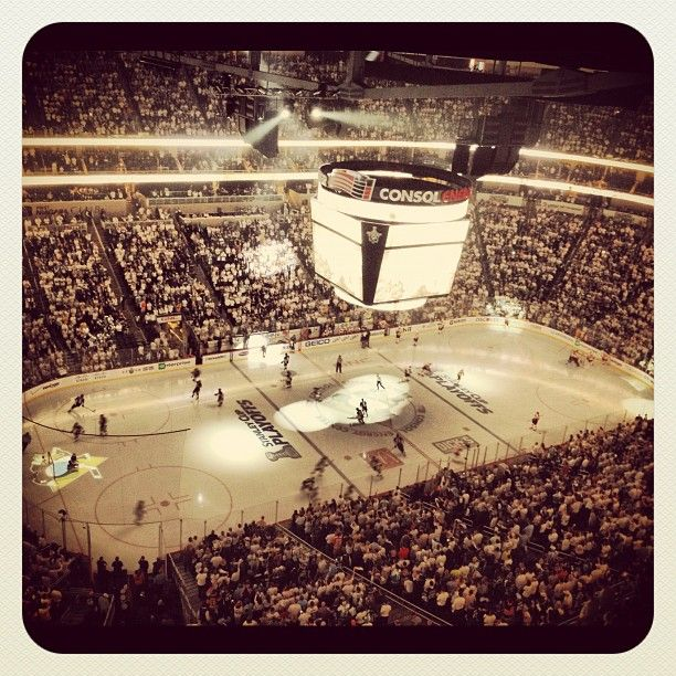 White out at Consol Energy Center!  Taken from Twitter. Courtesy of @omalley1212