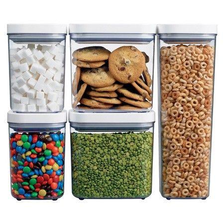 Food · OXO 5 Pc Food Storage Canister Set ...
