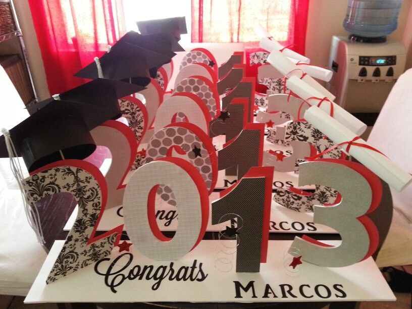 Graduation Table Ideas graduation table settings 1000 images about graduation party ideas on pinterest Graduation Table Centerpieces To Order Email Me At Partywithflavor1gmailcom