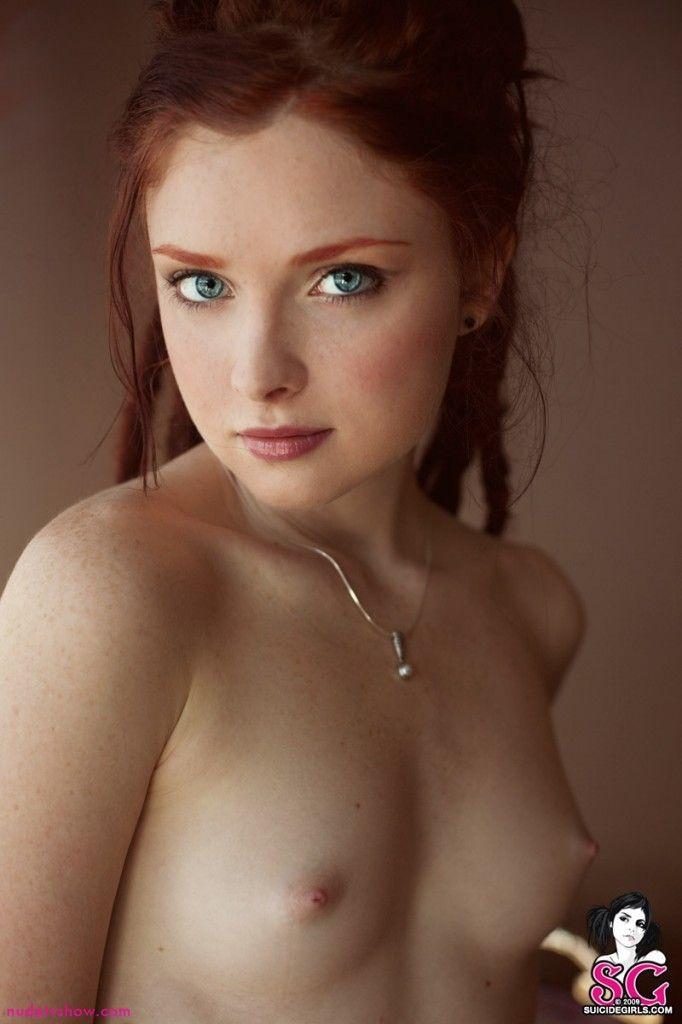 Ginger cutie pie nude
