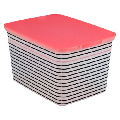 Target Bread Box Glamorous Room Essentials® Amsterdam Large Pencil Storage Bins  Set Of 3 Design Ideas